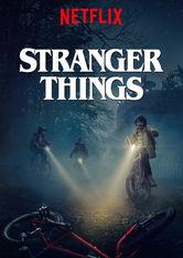 Kliknij by uszyskać więcej informacji | Netflix: Stranger Things | W małym miasteczku znika chłopiec. Wkrótce mieszkańcy odkrywają tajemnicę sekretnych eksperymentów, przerażających sił nadprzyrodzonych i małej dziwnej dziewczynki.