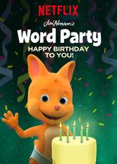 Kliknij by uszyskać więcej informacji   Netflix: Word Party: Happy Birthday / Bal słówek: Wszystkiego najlepszego!   Maluszki są dzisiaj bardzo przejęte, bosą twoje urodziny! Renia, Walduś, Hopek iLulu zaśpiewają piosenkę specjalnie dla ciebie.