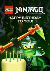 Kliknij by uszyskać więcej informacji | Netflix: LEGO Ninjago: Masters of Spinjitzu: Happy Birthday to You! / LEGO Ninjago: mistrzowie spinjitzu: Wszystkiego najlepszego! | Bohaterowie LEGO Ninjago — Kai, Zane, Jay iCole — chcą życzyć Ci wszystkiego najlepszego, ale żeby tozrobić, muszą użyć wszystkich swoich umiejętności Spinjitzu.
