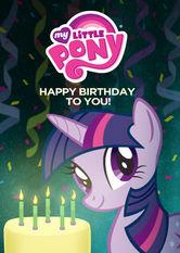 Kliknij by uszyskać więcej informacji   Netflix: My Little Pony: Happy Birthday to You! / My Little Pony: Wszystkiego najlepszego!   Ktoś wspominał coś ourodzinach? Fluttershy iPinkie Pie przygotowały wyjątkowe przyjęcie właśnie dla Ciebie. Sto lat od przyjaciół zEquestrii.
