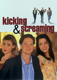 Netflix: Kicking and Screaming | After graduating, four college roomies -- petrified by the prospect of facing &#39;real life&#39; -- reluctantly step into adulthood in this ensemble comedy. <b>[NL]</b> | Oglądaj Film na Netflix.com