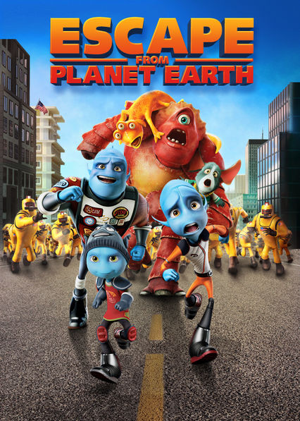 Netflix: Escape from Planet Earth / Rodzinka nie z tej Ziemi | This all-ages animated comedy follows the adventures of astronaut Scorch Supernova, a hero of the blue aliens who has a vast appetite for adventure. | Oglądaj Film dla dzieci na Netflix.com