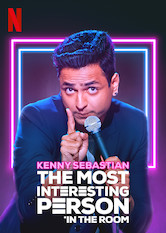 Kliknij by uzyskać więcej informacji | Netflix: Kenny Sebastian: The Most Interesting Person in the Room / Kenny Sebastian: The Most Interesting Person in the Room | Kenny Sebastian prezentuje swoje dwa talenty — komediowy oraz muzyczny — i przygląda się brzydkim butom, ptakom nielotom i swoim lękom przed byciem mało zabawnym.