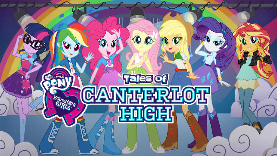 netflix-Equestria Girls Tales of Canterlot High-bg-1