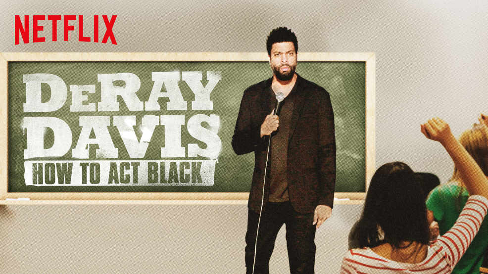 netflix-DeRay Davis How to Act Black-bg-1