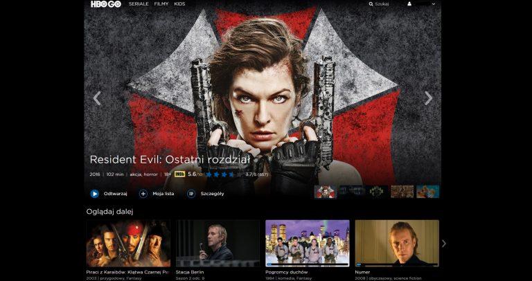 HBO GO Główna