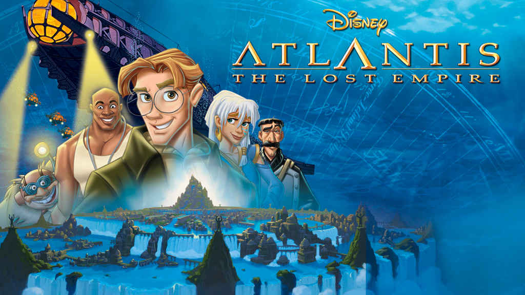 netflix Atlantis The Lost Empire