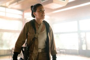 Gina Rodriguez in Annihilation from Paramount Pictures and Skydance.