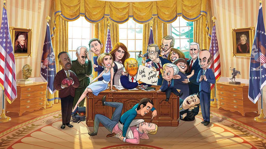 Prezydent z kreskówki-1