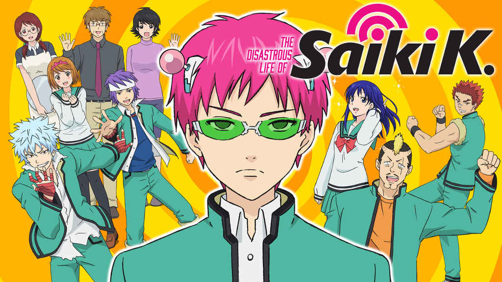 netflix-The Disastrous Life of Saiki K