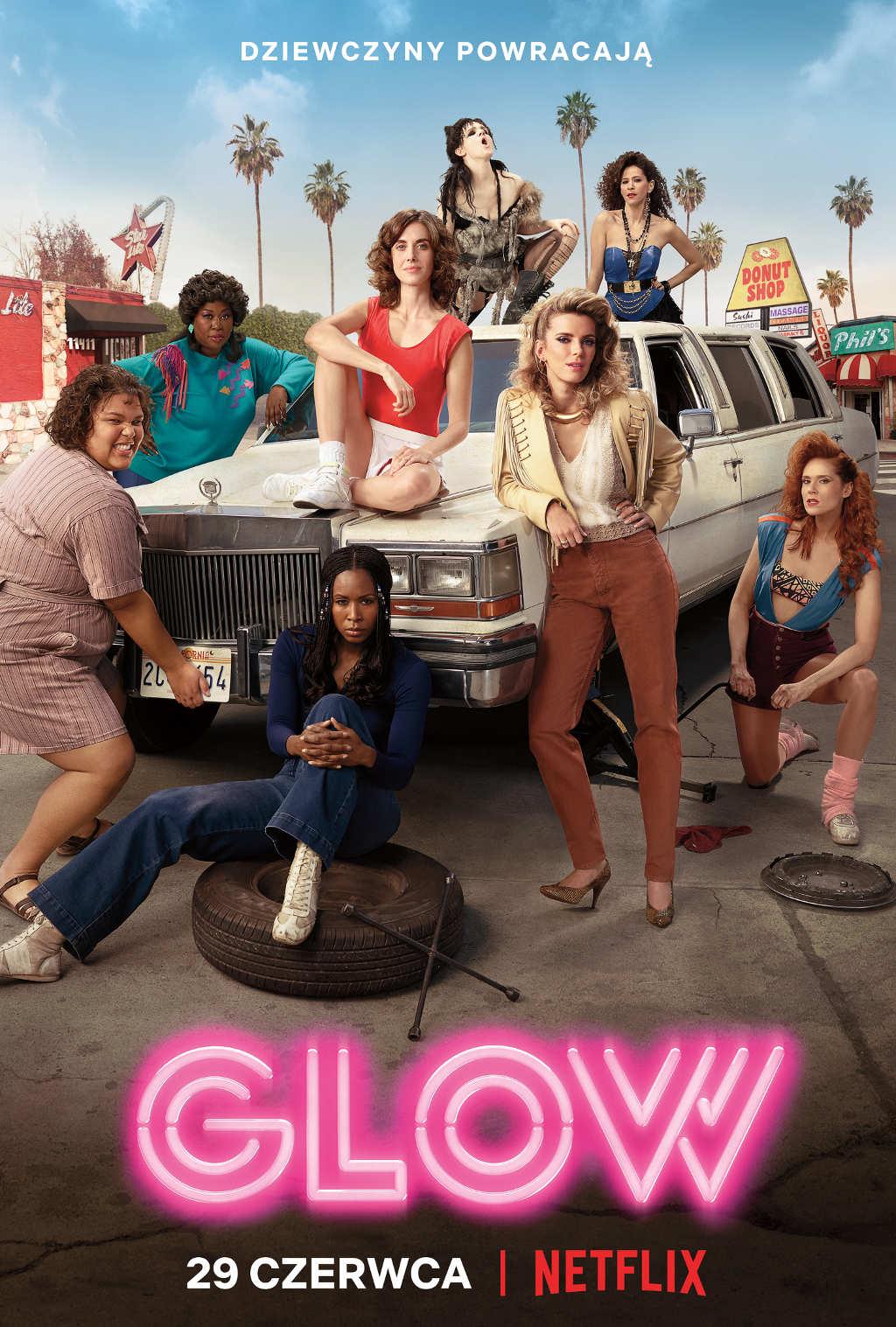 Netflix Glow s2 poster