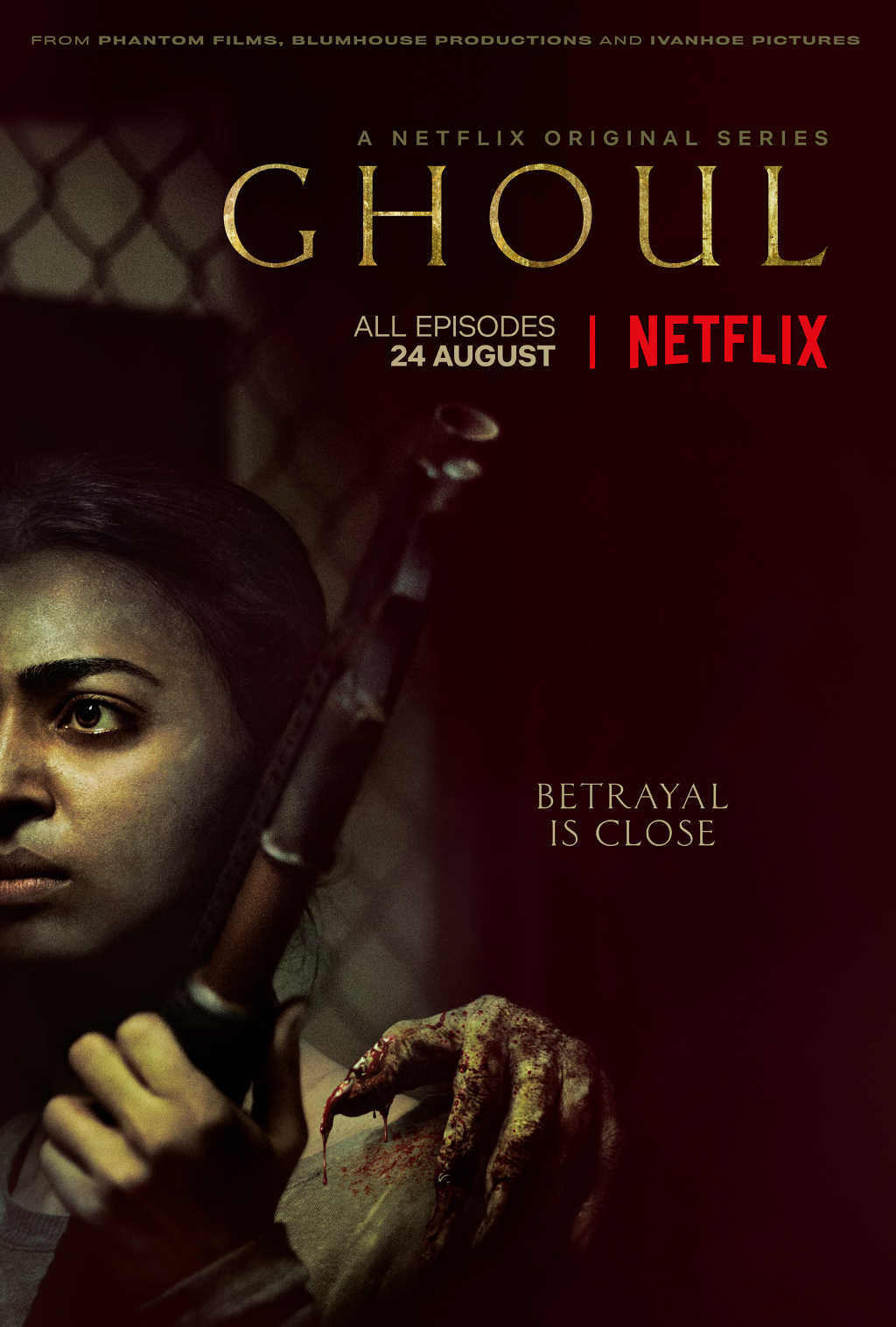 netflix Ghoul s1 poster