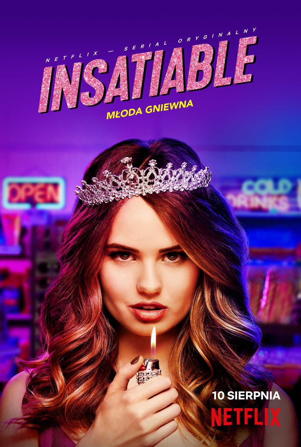 netflix Insatiable poster