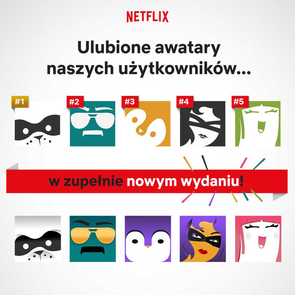 Netflix Profile Icons Infografika