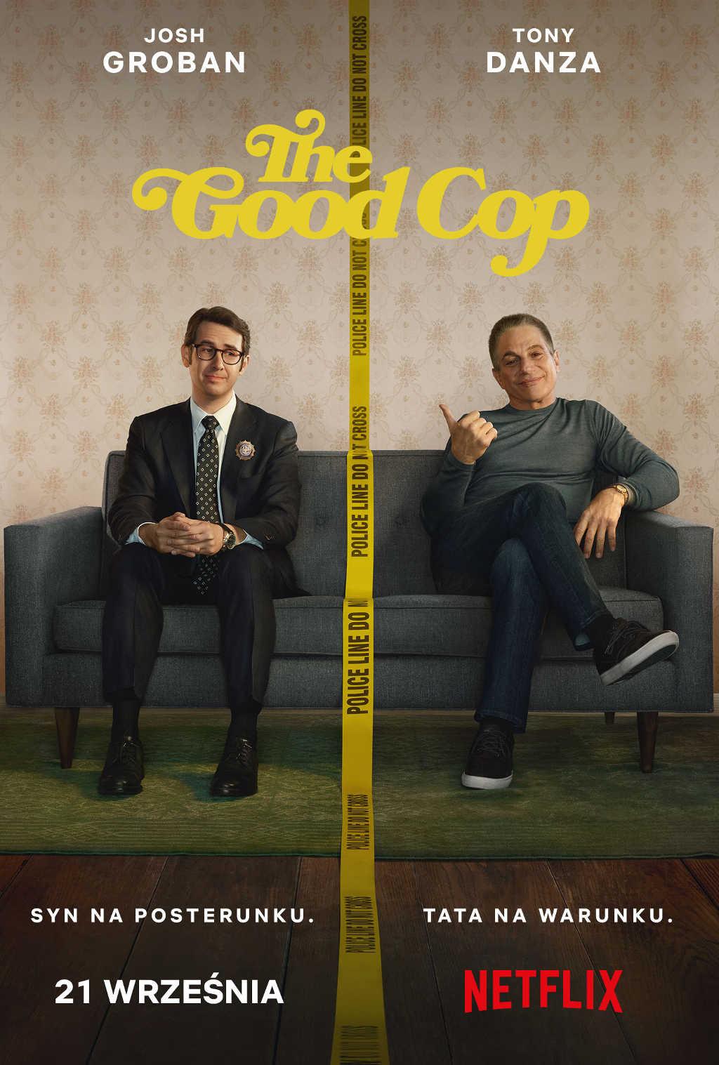 THE_GOOD_COP Poster PL