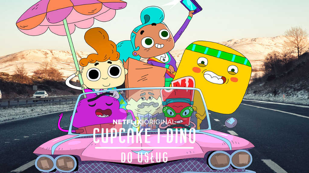netflix Cupcake and Dino - General Services s1