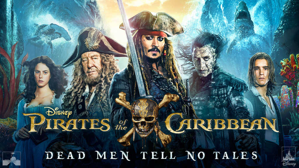 netflix Pirates of the Caribbean Dead Men Tell No Tales
