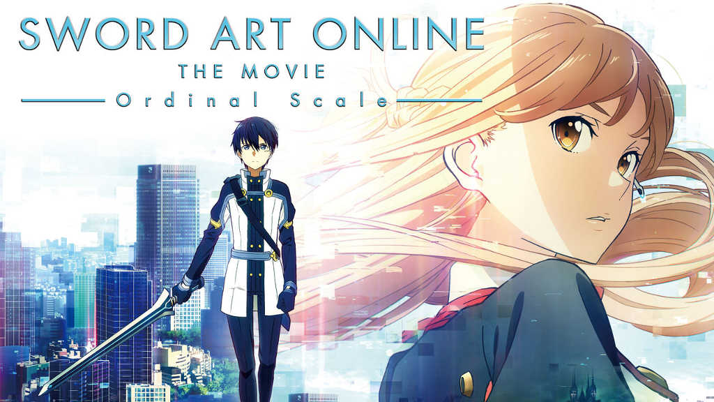 netflix Sword Art Online the Movie Ordinal Scale