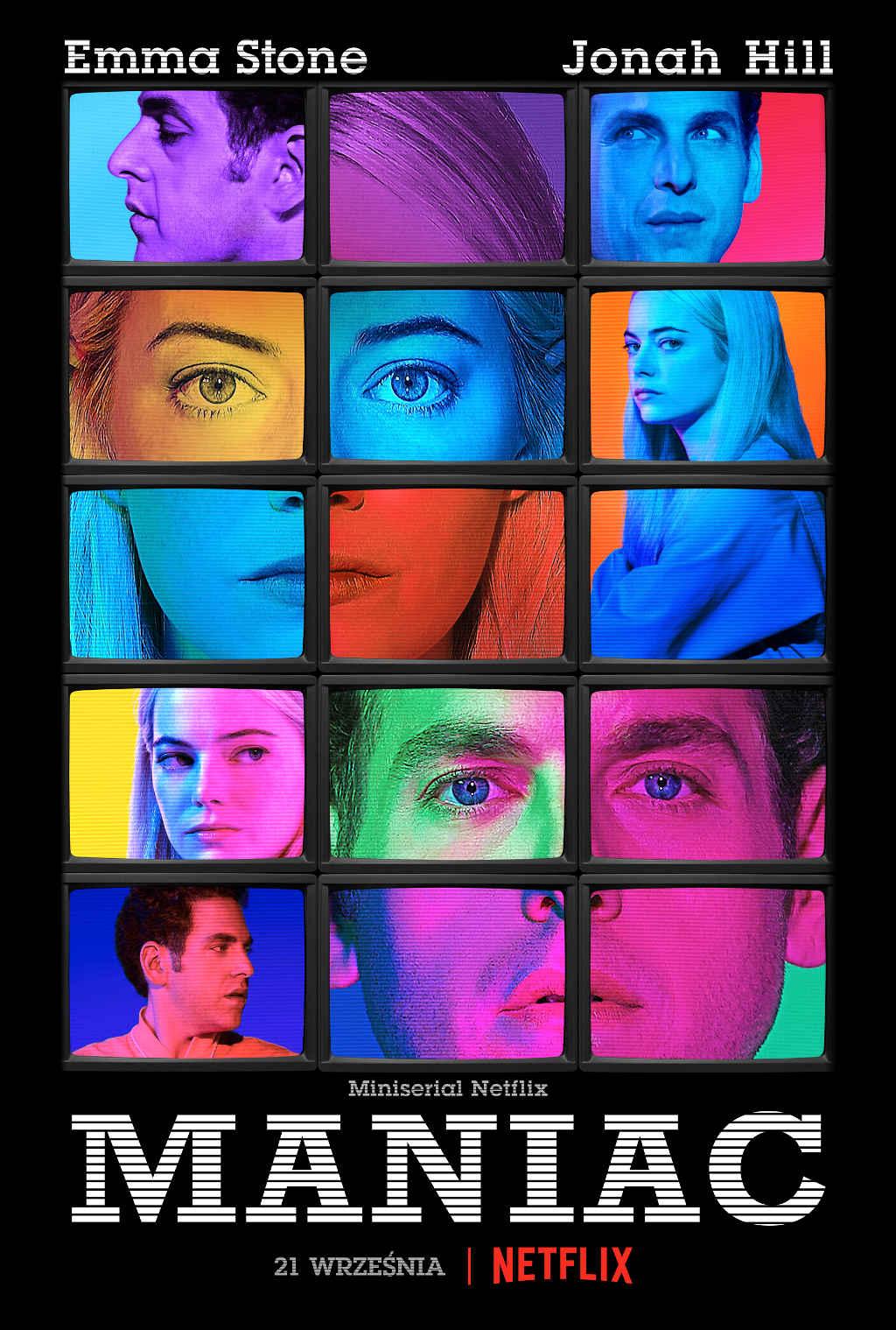 Netflix Maniac Poster PL