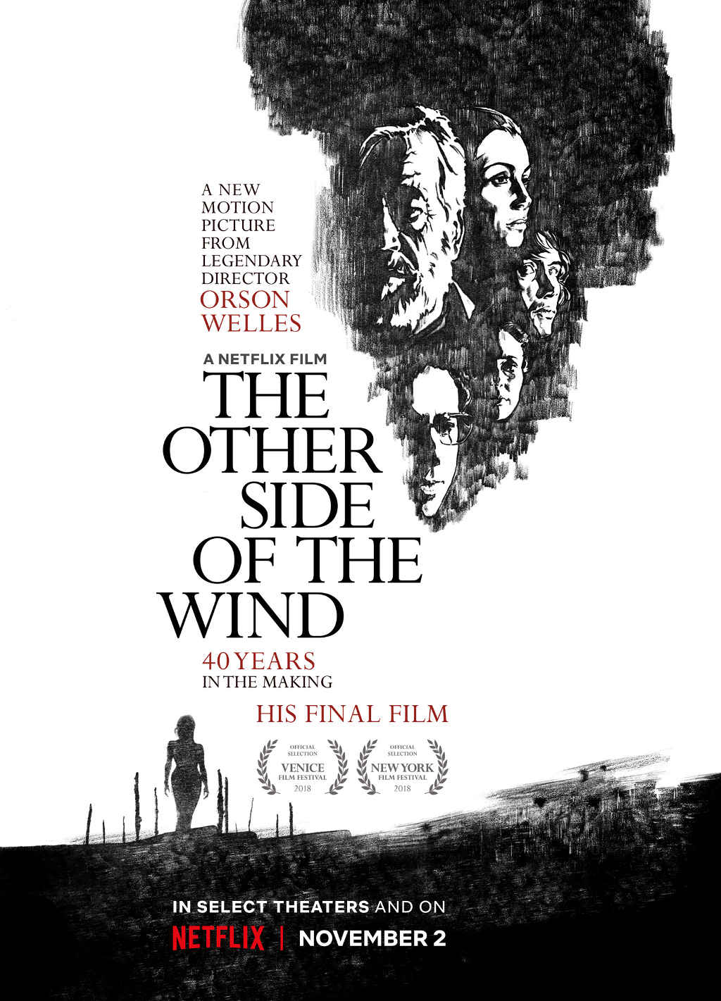 Netflix The Other Side Of The Wind poster