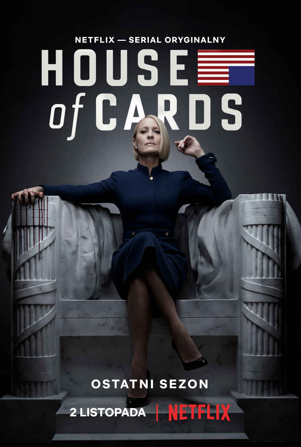 netflix house of cards s6 poster pl