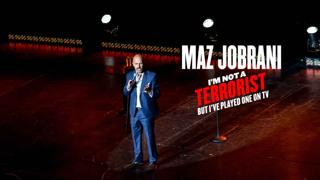 netflix Maz Jobrani Im Not a Terrorist But Ive Played One on TV