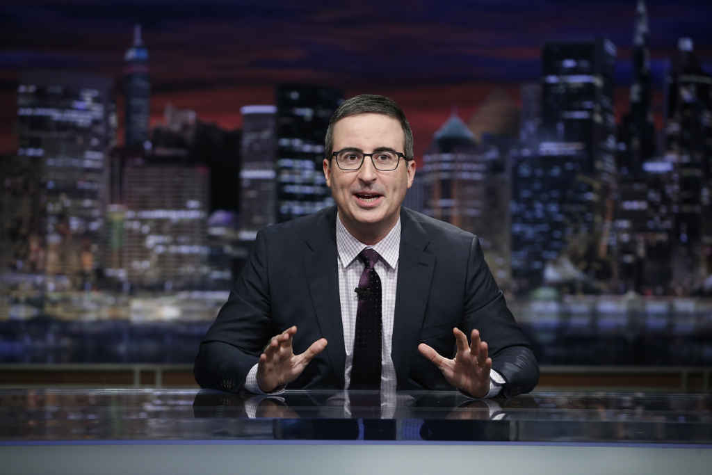 HBO Last Week Tonight with John Oliver Ep 503  Characters:  John Oliver-  himself