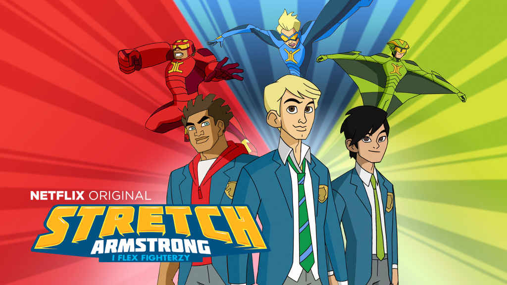 netflix Stretch Armstrong and the Flex Fighters S2