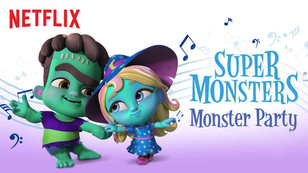 netflix Super Monsters Monster Party S1