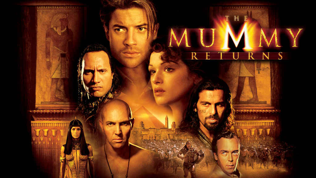 netflix The Mummy Returns