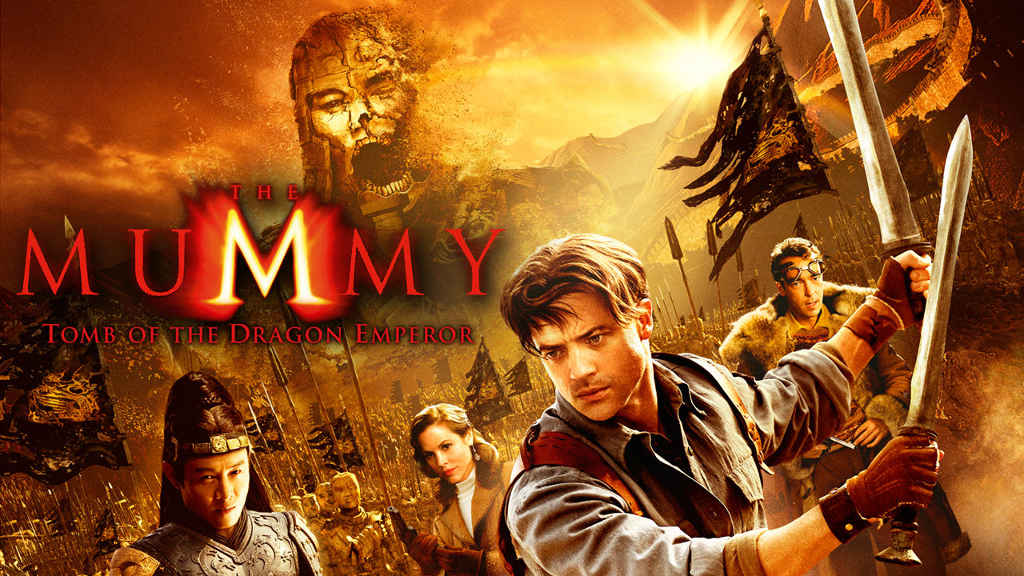netflix The Mummy Tomb of the Dragon Emperor