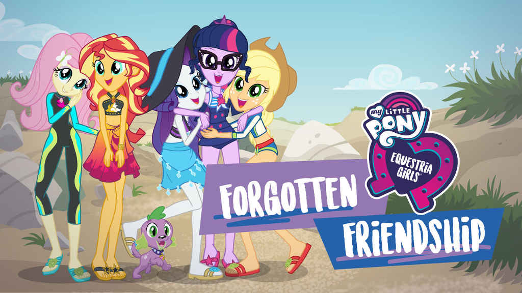 netflix Little Pony Equestria Girls Forgotten Friendship