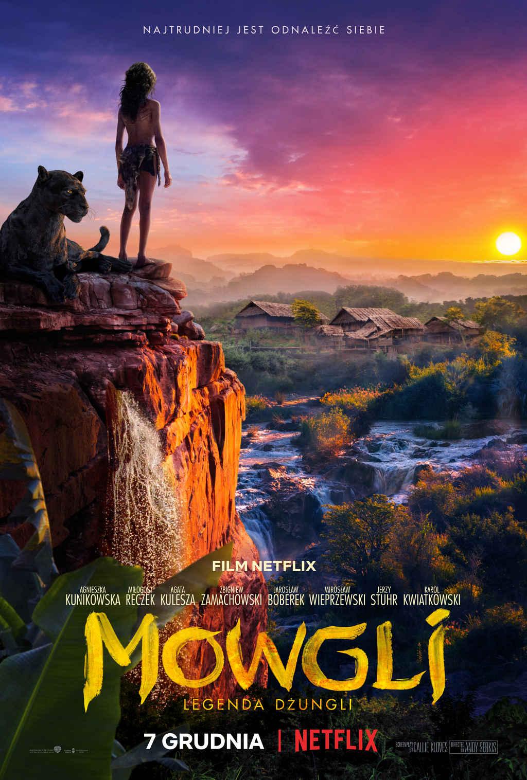 Netflix Mowgli Poster PL 2018