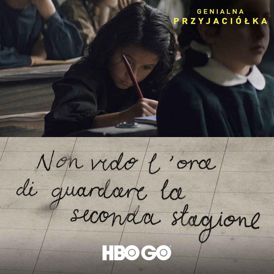 HBO GO Genialna przyjaciólka Nie mogę doczekać się nowego sezonu