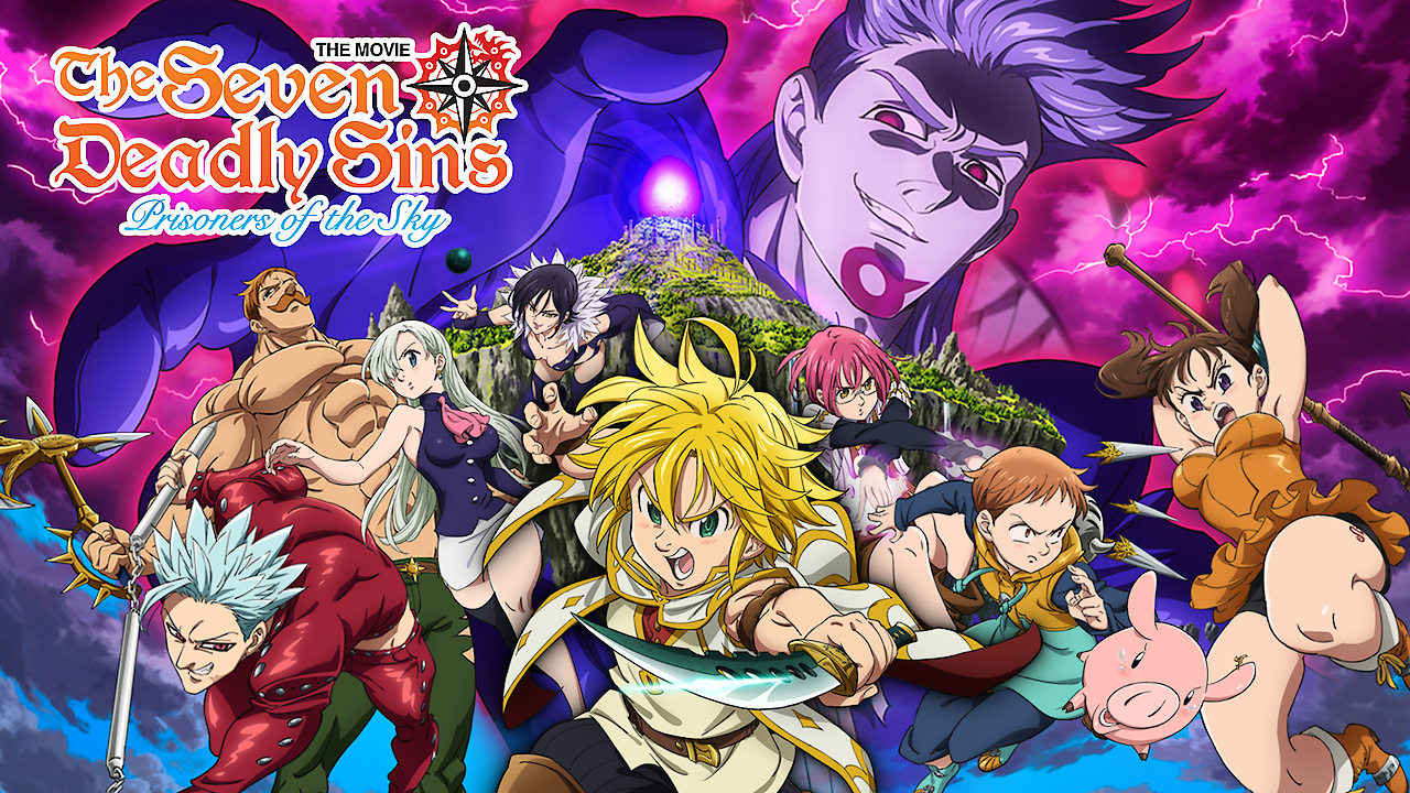 netflix The Seven Deadly Sins the Movie Prisoners of the Sky
