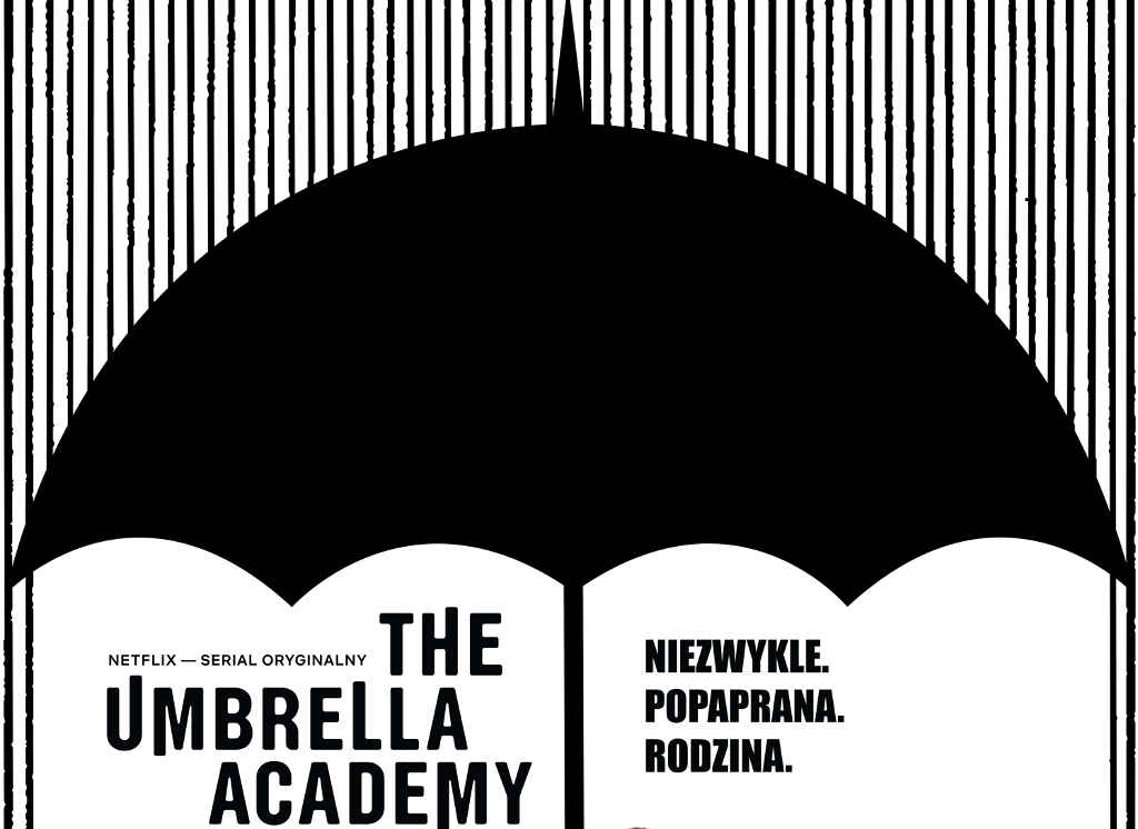 Netflix The Umbrella Academy S1 poster PL top