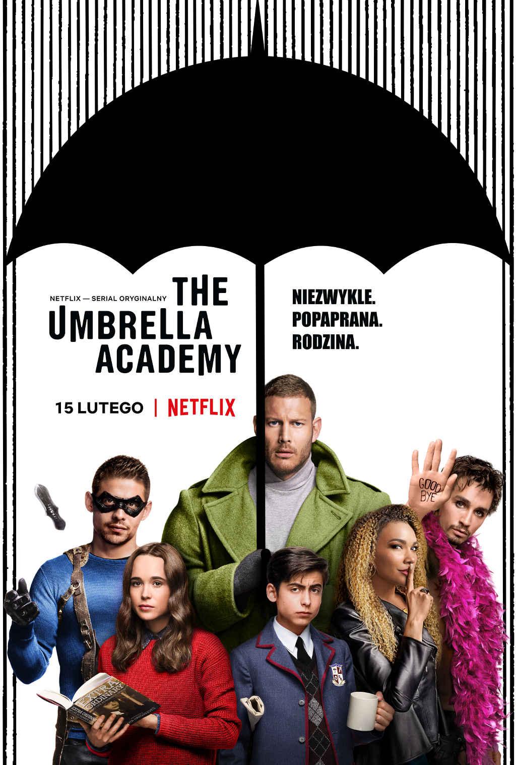 Netflix Umbrella Academy S1 Poster PL