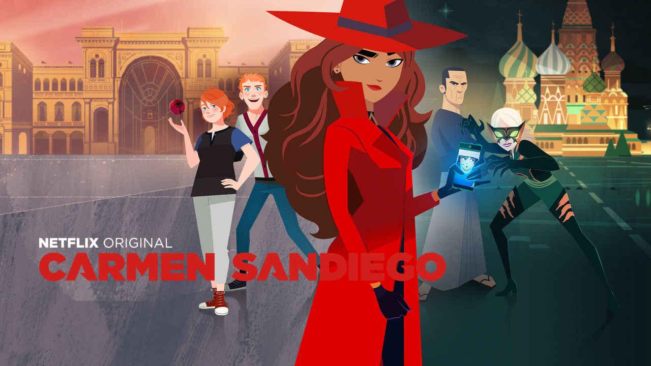 netflix Carmen Sandiego s1