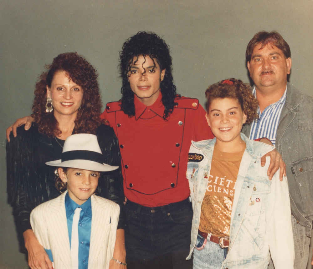 HBO Michael Jackson oraz Robsonowie, luty 1990