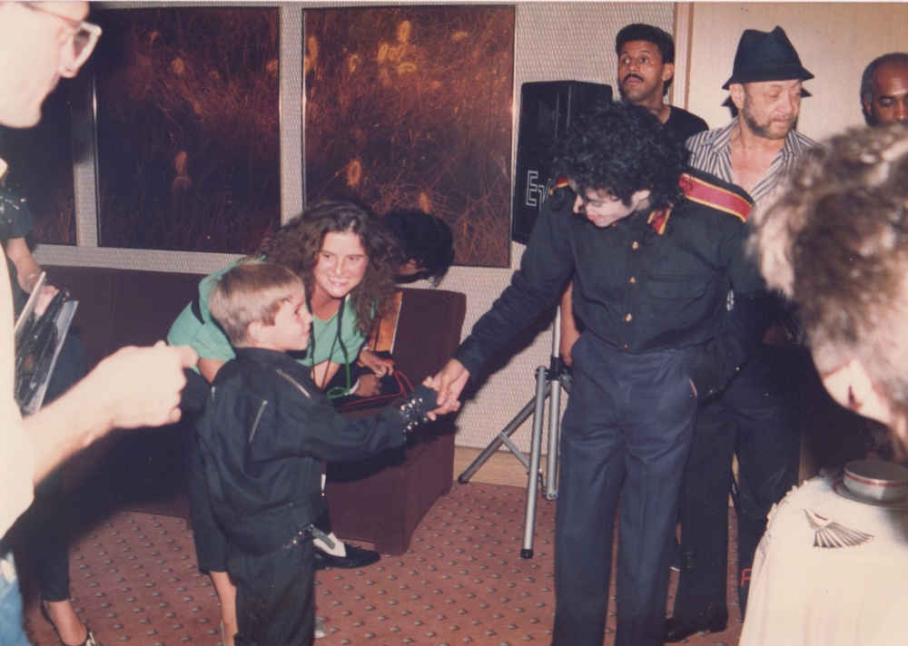 HBO Wade Robson i Michael Jackson - pierwsze spotkanie