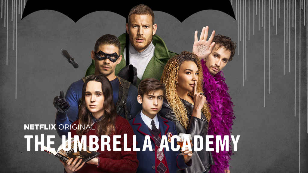 netflix The Umbrella Academy S1