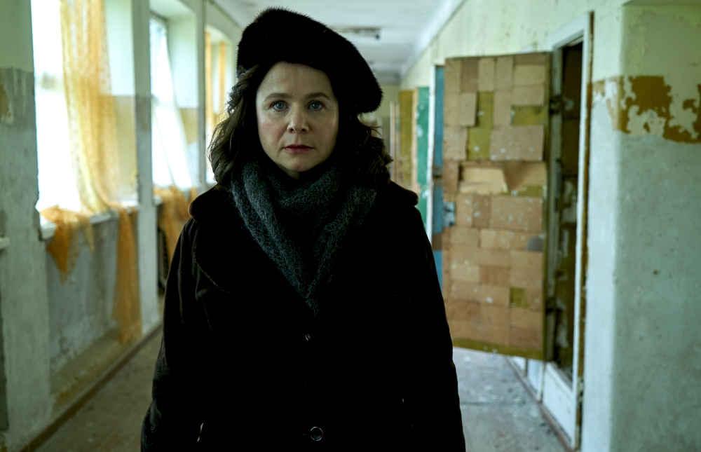 Czarnobyl Emily Watson jako Ulana Khomyuk - photo credit Liam Daniel HBO-1000