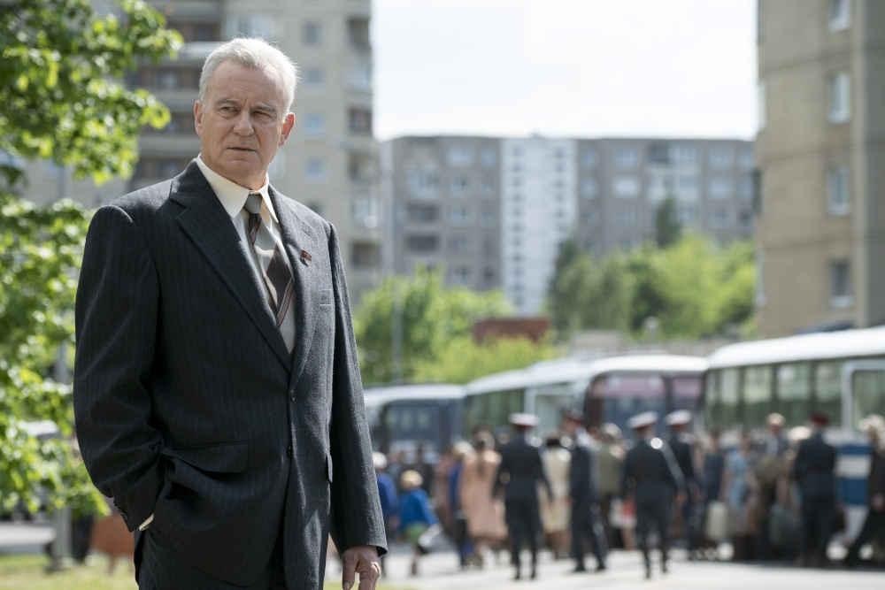 Czarnobyl Stellan Skarsgard jako Borys Szczerbina - photo credit Liam Daniel HBO-1000