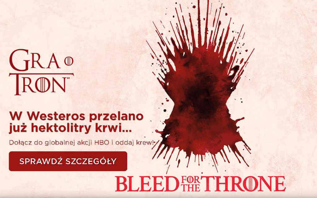 HBO Bleed For The Throne – oddaj krew