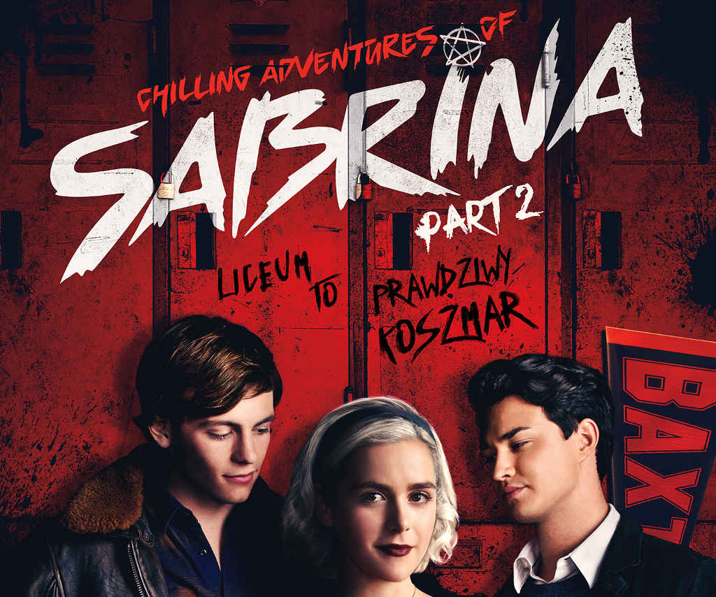 Netflix Chilling Adventures of Sabrina part 2 poster top PL