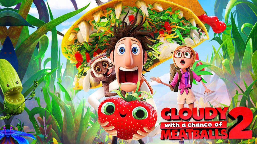 netflix Cloudy with a Chance of Meatballs 2