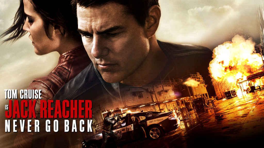 netflix Jack Reacher Never Go Back