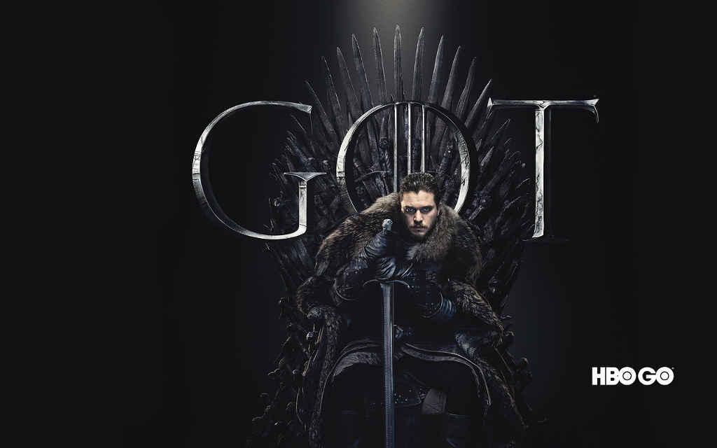 HBO GO Gra o Tron S8 tron
