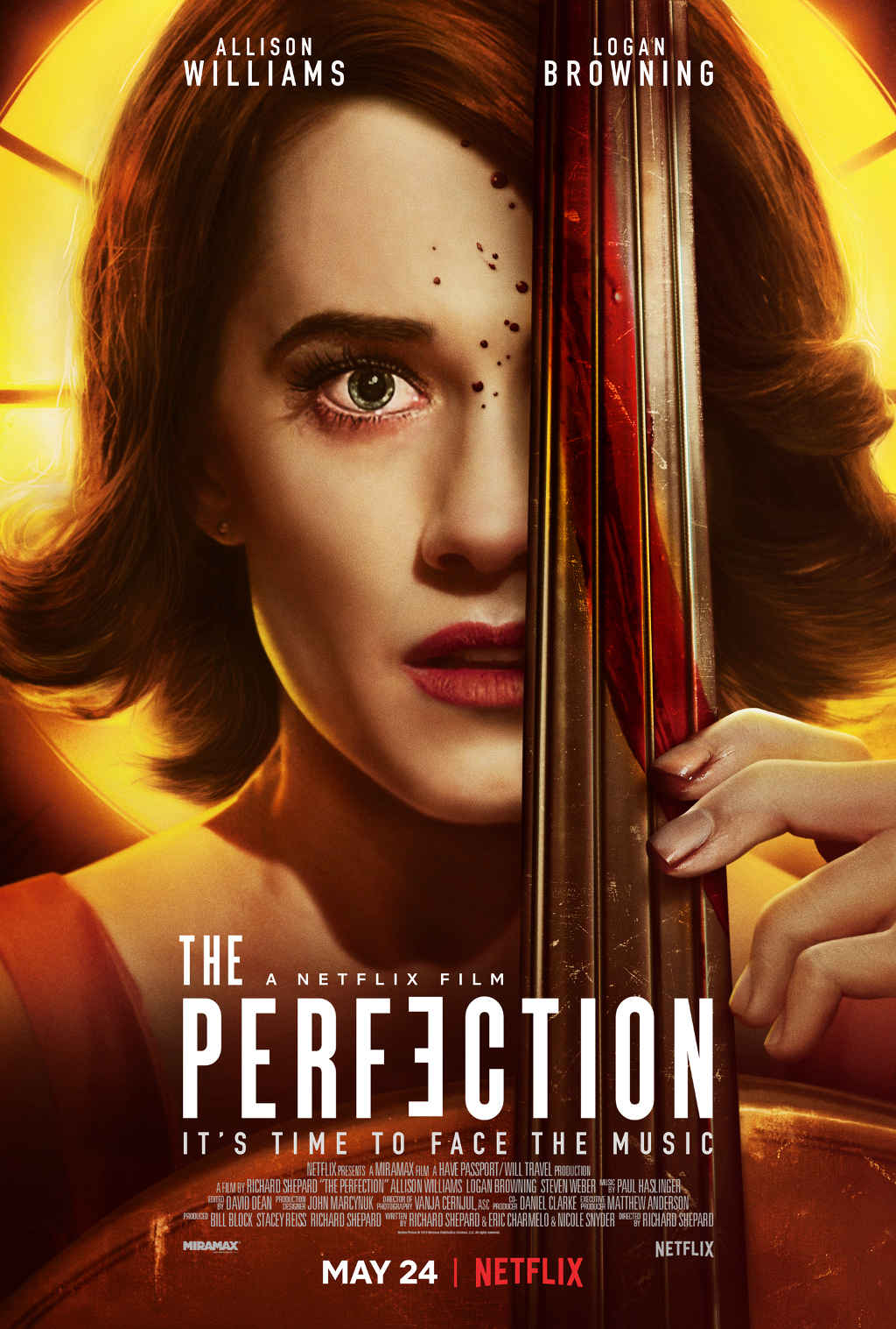 Netflix The Perfection Poster EN