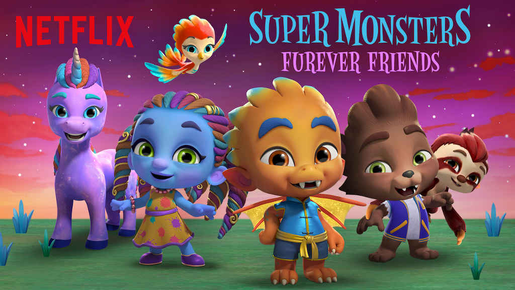 netflix Super Monsters Furever Friends